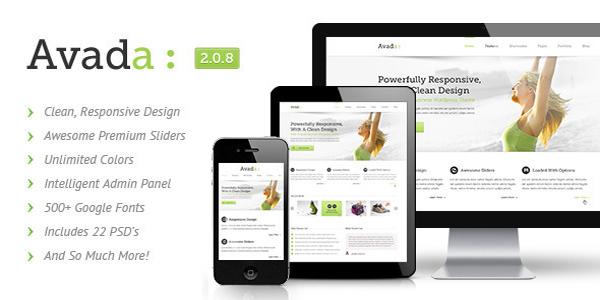 Avada | Responsive Multi-Purpose Themeforest WordPress Theme ...