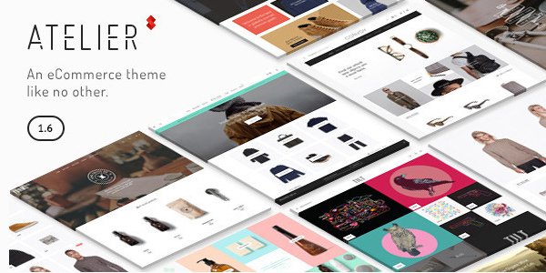 Atelier - Creative Multi-Purpose eCommerce WordPress Themeforest 2015 Theme free download